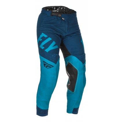 kalhoty EVOLUTION 2021, FLY RACING (modrá/černá)