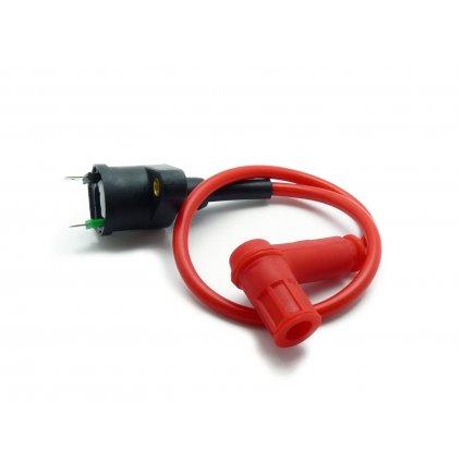 pitbike zapalovací cívka s fajfkou - odrušená Stomp, DemonX, WPB