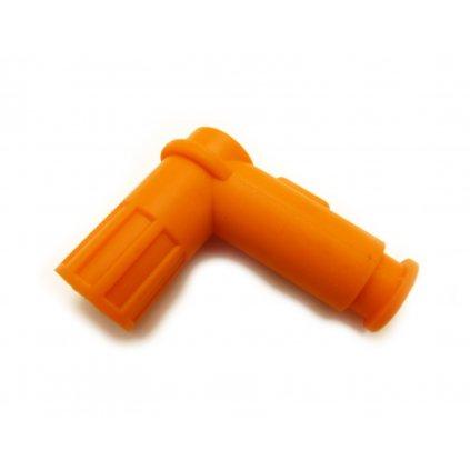 pitbike silikonová fajfka zapalování Stomp, DemonX, WPB - oranžová