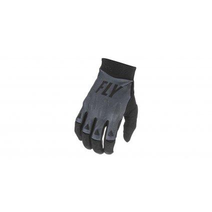 rukavice EVOLUTION 2021, FLY RACING (černá/šedá)