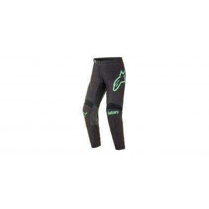 kalhoty FLUID CHASER 2021, ALPINESTARS (černá/zelená fluo)