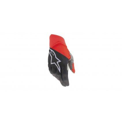 rukavice DUNE 2021, ALPINESTARS (černá/červená)