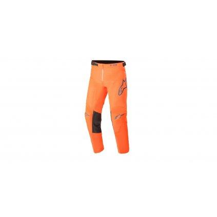 kalhoty RACER BLAZE 2021, ALPINESTARS, dětské (oranžová/modrá)
