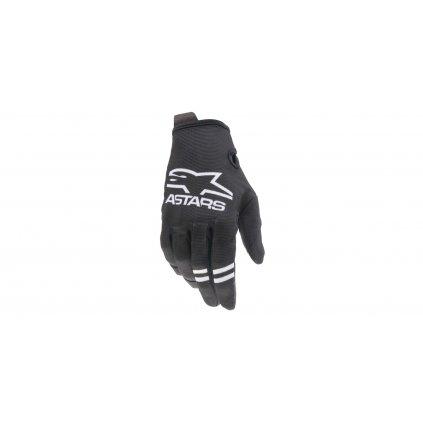 rukavice RADAR 2021, ALPINESTARS, dětské (černá/bílá)