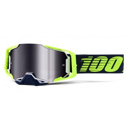 ARMEGA 100% - USA , brýle Deker - zrcadlové stříbrné plexi