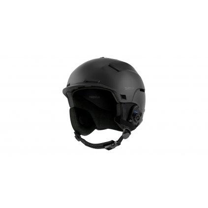 lyžařská přilba s headsetem Latitude S1, SENA (matná černá)