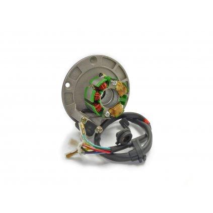 pitbike zapalování - stator pro motor Zongshen 155, Zongshen 125, Stomp Detroit 170