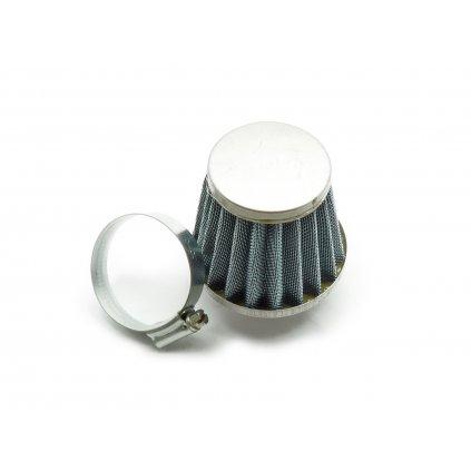 pitbike vzduchový filtr ocelový konický 42mm