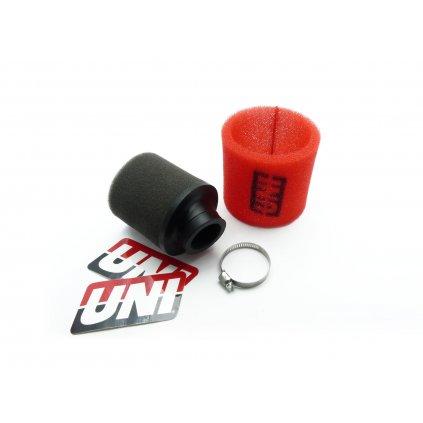 pitbike závodní vzduchový filtr UNI zahnutý 33mm UP-4125AST