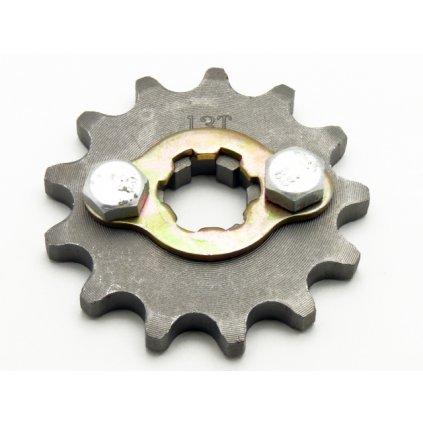 pitbike řetězové kolečko 420/13 na hřídel 17mm, Stomp, DemonX, WPB