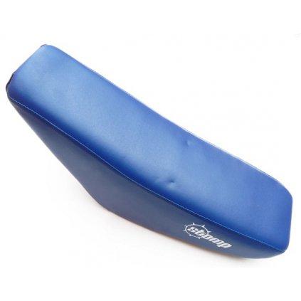 pitbike sedlo CRF50 modré s logem Stomp