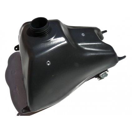 pitbike palivová nádrž CRF70 s palivovým ventilem Stomp, DemonX, WPB
