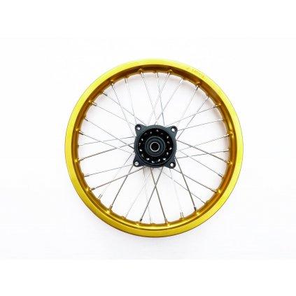 pitbike ALLOY přední kolo 14 palců zlaté Stomp, DemonX, WPB