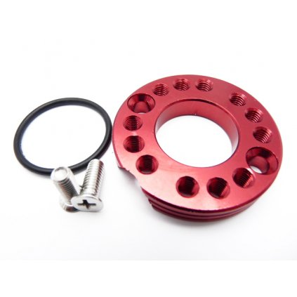 pitbike CNC směrová podložka příruby karburátoru 28mm, Stomp, DemonX, WPB