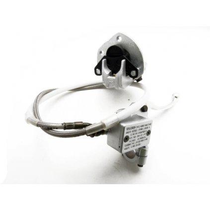 pitbike přední brzda komplet Stomp, DemonX, WPB stříbrná