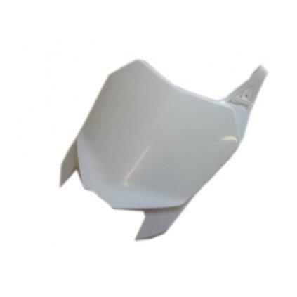 přední tabulka bílá Stomp, WPB, BucciMoto F15, F15R