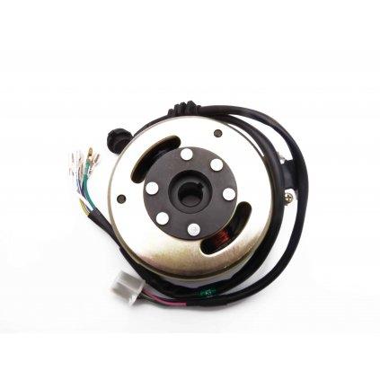 pitbike kompletní zapalování s konektorem pro ukazatel řazení