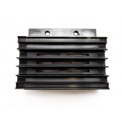pitbike olejový chladič CNC černý, Stomp, DemonX, WPB