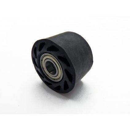 pitbike rolnička řetězu rovná, vnitřní průměr 10mm, černá