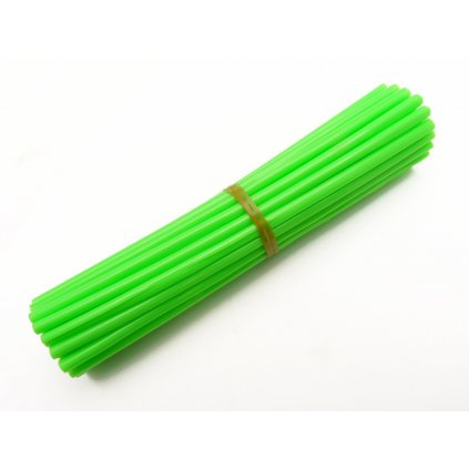 barevný obal drátu kol, zelený, 35ks