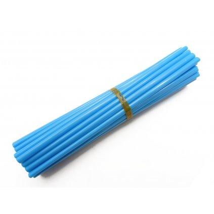 barevný obal drátu kol, modrý, 35ks