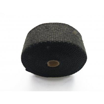 pitbike omotávka výfuku do 550 stupňů, černá
