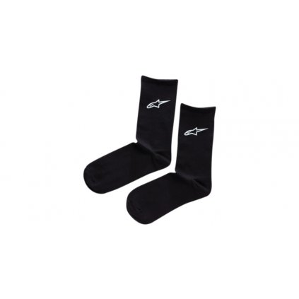 ponožky CREW, ALPINESTARS (černá)