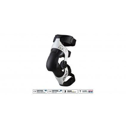 kolenní ortézy POD K4 v.2.0, POD (bílá/černá, pravé koleno)