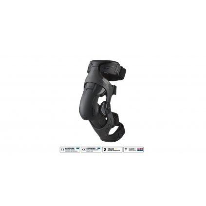 kolenní ortézy POD K4 v.2.0, POD (grafit/černá, levé koleno)
