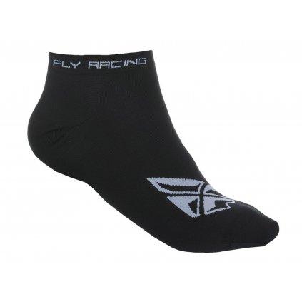 ponožky No Show, FLY RACING (černé)