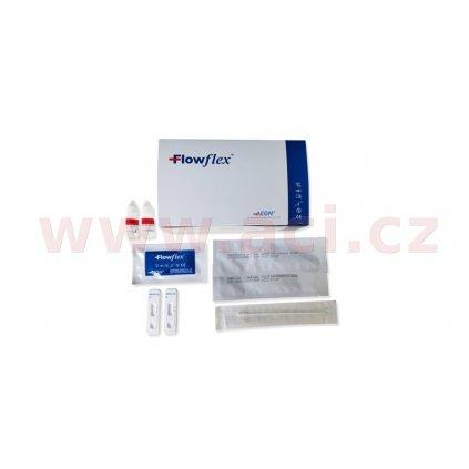 antigenní test Flowflex SARS-CoV-2 Antigen Rapid Test 25 ks
