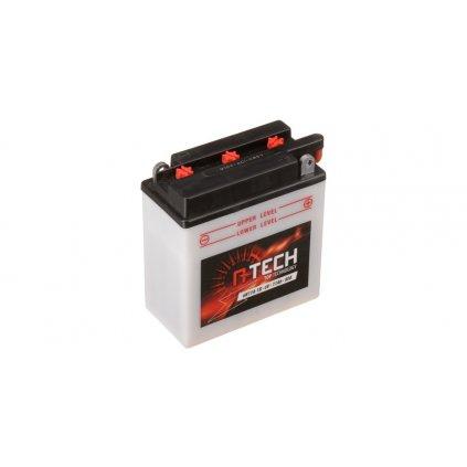 baterie 6V, 6N11A-1B, 11Ah 80A, konvenční 122x62x131 A-TECH (vč. balení elektrolytu)
