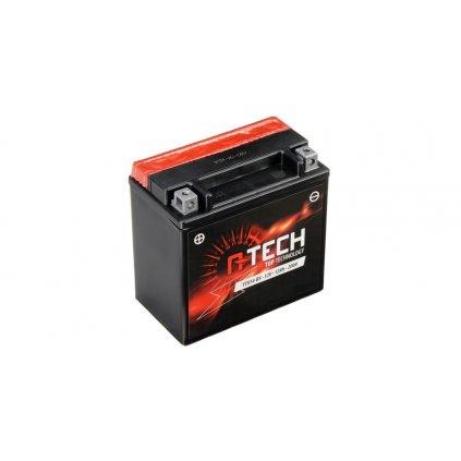 baterie 12V, YTX14-BS, 12Ah, 200A, bezúdržbová MF AGM 150x87x145 A-TECH (vč. balení elektrolytu)