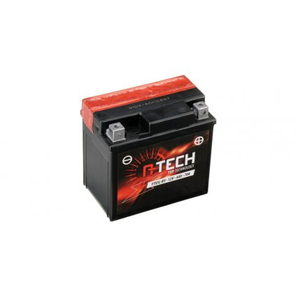 baterie 12V, YTX5L-BS, 4Ah, 70A, bezúdržbová MF AGM 114x71x106, A-TECH (vč. balení elektrolytu)