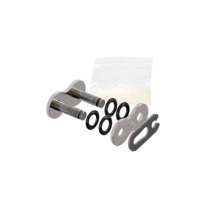 spojka řetězu 520X1R2, JT CHAINS (barva stříbrná, rozpojovací, typ SPRING)