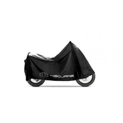 plachta na motorku (246 x 105 x 127 cm), NOX/4SQUARE (černá, univerzální velikost)