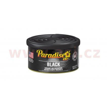 Osvěžovač vzduchu Paradise Air Organic Air Freshener, vůně: Black (ledově svěží)