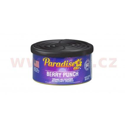 Osvěžovač vzduchu Paradise Air Organic Air Freshener, vůně: Berry Punch (ovocná bomba)