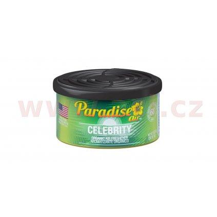Osvěžovač vzduchu Paradise Air Organic Air Freshener, vůně: Celebrity (vůně Celebrity)