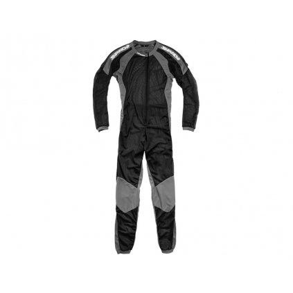 jednodílné spodní prádlo pod kombinézu RIDER UNDERSUIT, SPIDI (černá/šedá)