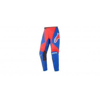 kalhoty FLUID SPEED 2021, ALPINESTARS (modrá/červená/bílá)