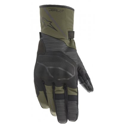 rukavice ANDES DRYSTAR 2021, ALPINESTARS (zelená/černá)