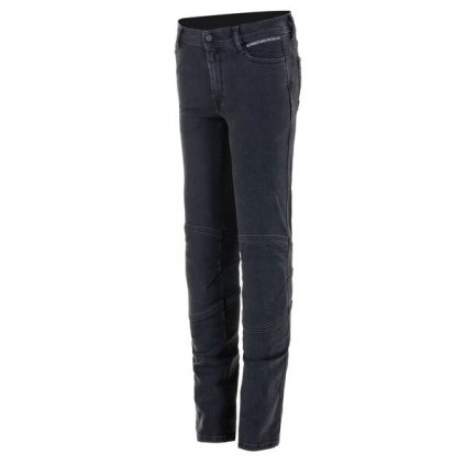 kalhoty EMI DENIM kolekce DIESEL JEANS 2021, ALPINESTARS, dámské (sepraná černá)