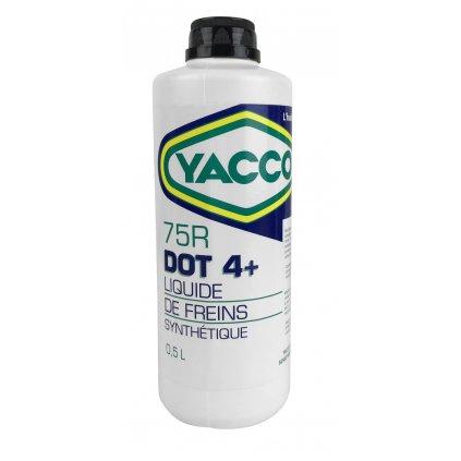 Brzdová kapalina YACCO 75 R DOT 4+, YACCO (500 ml)