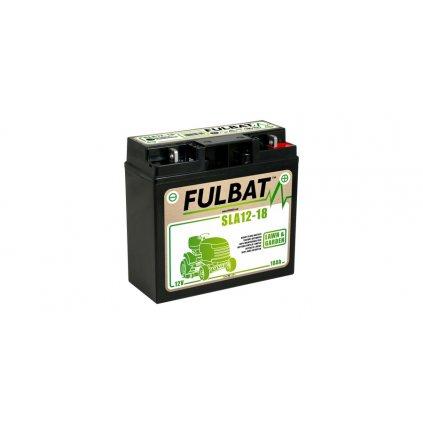 baterie 12V, SLA12-18, 18Ah, 150A, bezúdržbová MF AGM 181x76x167, FULBAT (aktivovaná ve výrobě)