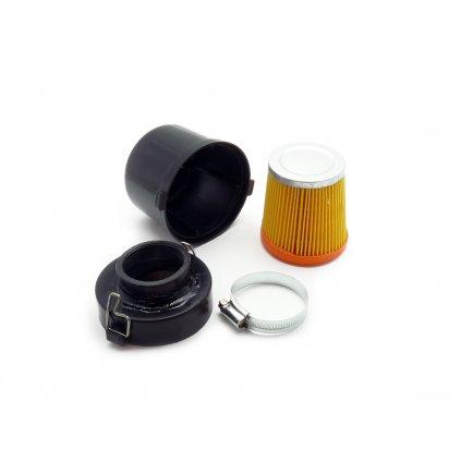 pitbike vzduchový filtr v plastovém boxu 42mm Stomp, DemonX, WPB