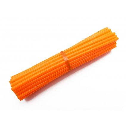 barevný obal drátu kol, oranžový, 35ks