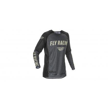dres EVOLUTION 2021, FLY RACING (černá/šedá)