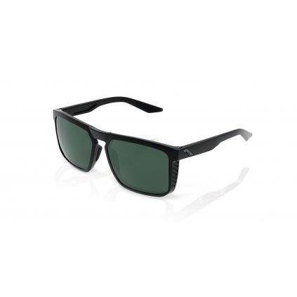 slunečnáí brýle RENSHAW, 100% (zabarvená zelená skla)