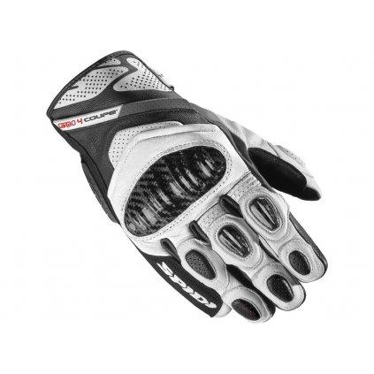 rukavice C4 COUPE, SPIDI (černá/bílá)